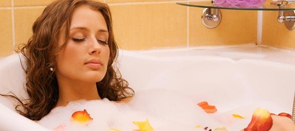 Cold Bath for Cellulite